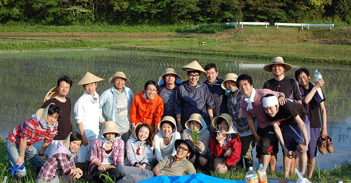 ブラッシュアップ・ジャパン株式会社 未来事業部「田んぼオーナー制度」を社内活性に活用